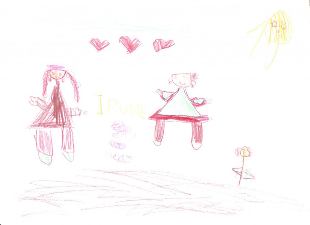 Dibujo de Irune